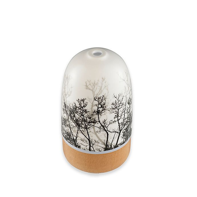 Alternate image 1 for HoMedics® Ellia™ Rise Trees Ultrasonic Aroma Diffuser with Remote and Essential Oils