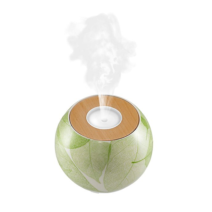 Alternate image 1 for HoMedics® Ellia™ Balance Leaves Ultrasonic Aroma Diffuser with Remote and Essential Oils
