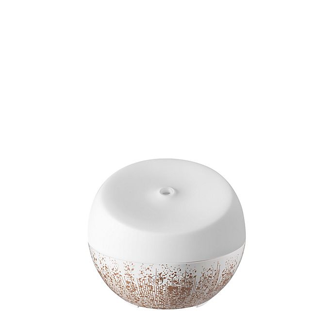 Alternate image 1 for HoMedics® Ellia™ Dream Ultrasonic Aroma Diffuser with Essential Oils in Rose Gold