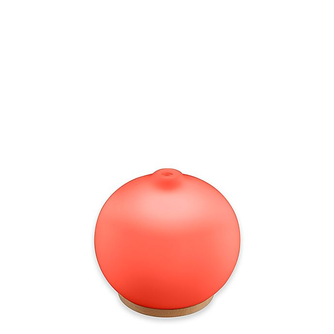 Alternate image 1 for HoMedics® Ellia™ Adore Ultrasonic Aroma Diffuser with Remote and Essential Oils