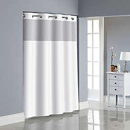 Hookless® Herringbone Shower Curtain