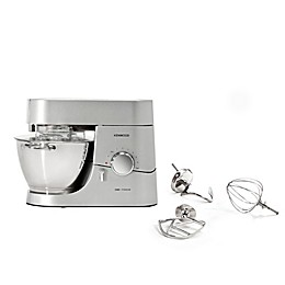 Kenwood Chef 5 qt. Stand Mixer with Tools in Stainless Steel