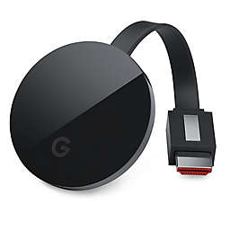 Google Chromecast Ultra in Black