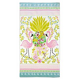 Dena™ Home Flamingo Pair Beach Towel