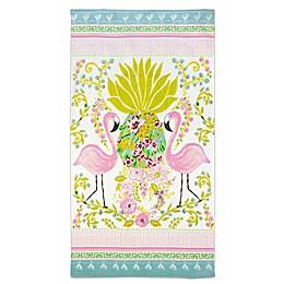 Dena™ Home Flamingo Pair Beach Towel