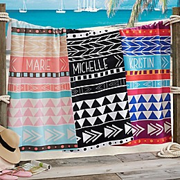 Bohemian Chic Beach Towel