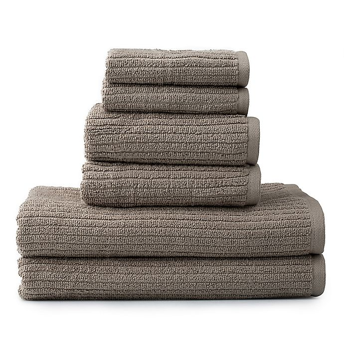Alternate image 1 for Dri-Soft Plus 6-Piece Towel Set