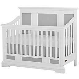 evolur™ Parker 5-in-1 Convertible Crib in White/Grey