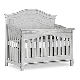 Cheyenne 5-in-1 Full Panel Convertible Crib in Mist