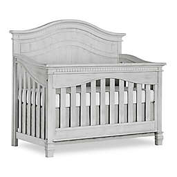 Cheyenne 5-in-1 Full Panel Convertible Crib in Mist