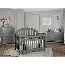 evolur™ Hampton Nursery Furniture Collection in Storm Grey