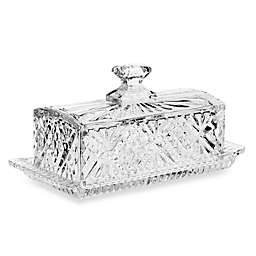 Godinger Dublin Crystal Covered Butter Dish