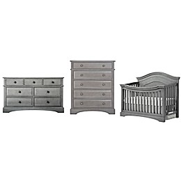 evolur™ Adora Curve Nursery Furniture Collection in Storm Grey