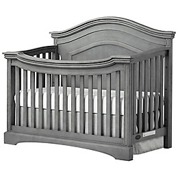 evolur™ Adora Curve 4-in-1 Convertible Crib in Storm Grey