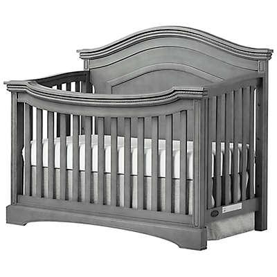 evolur™ Adora Curve 4-in-1 Convertible Crib in Storm Grey