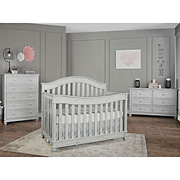 Hampton Nursery Furniture Collection in Antique Grey