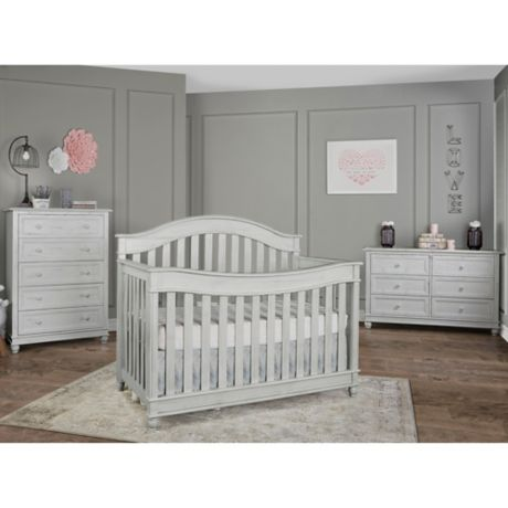 Hampton Nursery Furniture Collection In Antique Grey Buybuy Baby