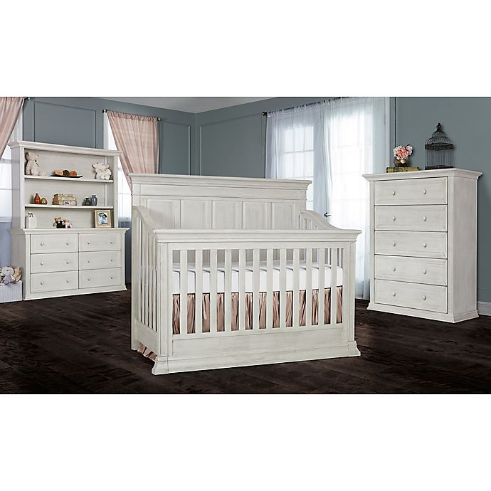 Napoli Nursery Furniture Collection In Antique Grey