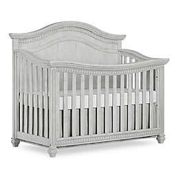 Madison Curved Top 5-in-1 Convertible Crib in Antique Grey