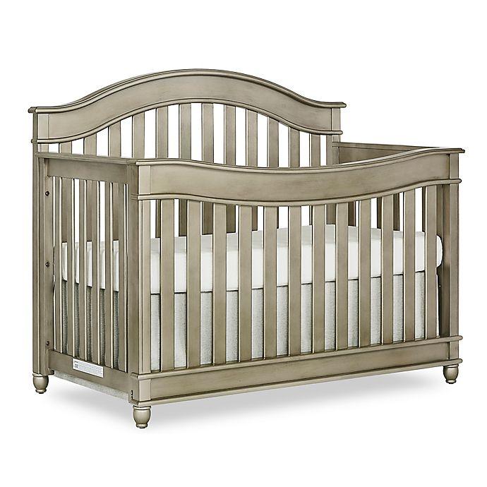 Alternate image 1 for evolur™ Hampton 5-in-1 Convertible Crib in Antique Bronze