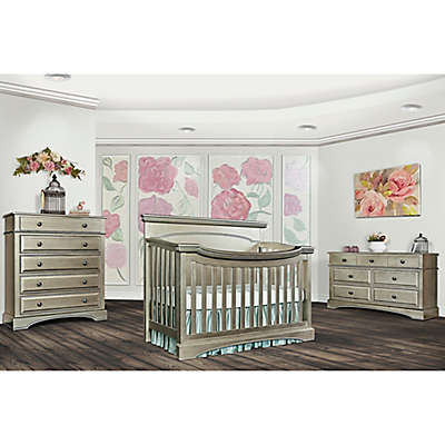 evolur™ Catalina Flat Top Nursery Furniture Collection in Antique Bronze