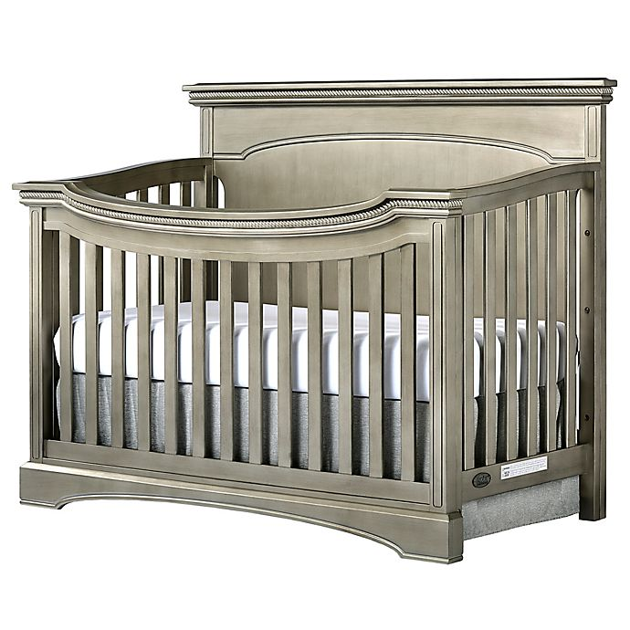 Alternate image 1 for evolur™ Catalina Flat Top 4-in-1 Convertible Crib in Antique Bronze