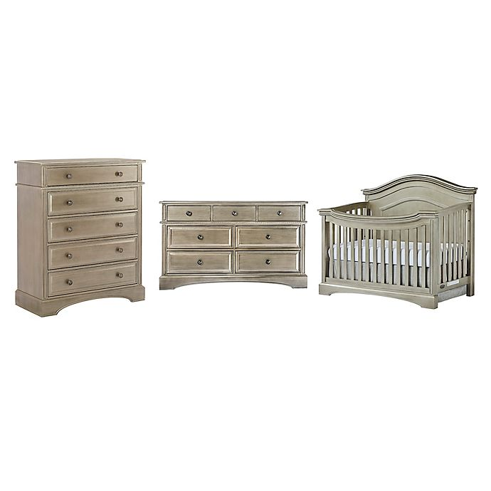 evolur™ Adora Curve Nursery Furniture Collection in Antique Bronze - Evolur™ Adora Curve Nursery Furniture Collection In Antique Bronze
