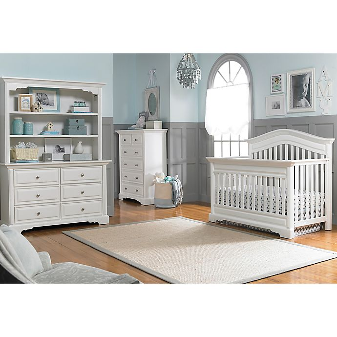 Dolce Babi Venezia Nursery Furniture Collection In Snow
