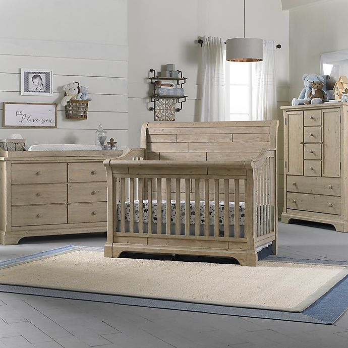 Cosi Bella Delfino Nursery Furniture Collection In Farmhouse Pine
