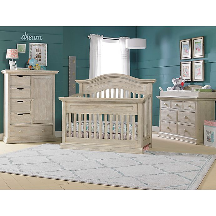 Cosi Beli Luciano Nursery Furniture Collection In White Washed Pine