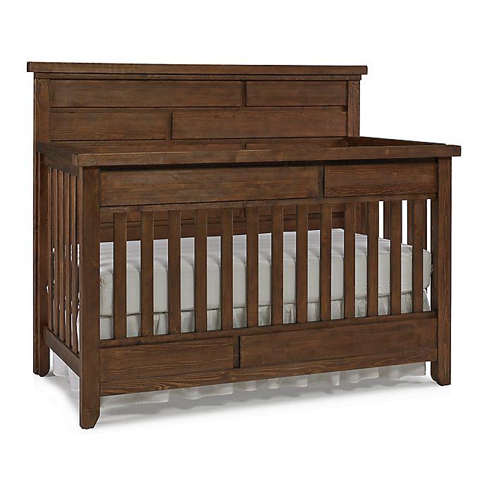 Alternate image 1 for Dolce Babi® Grado 4-in-1 Convertible Crib in Farmhouse Brown