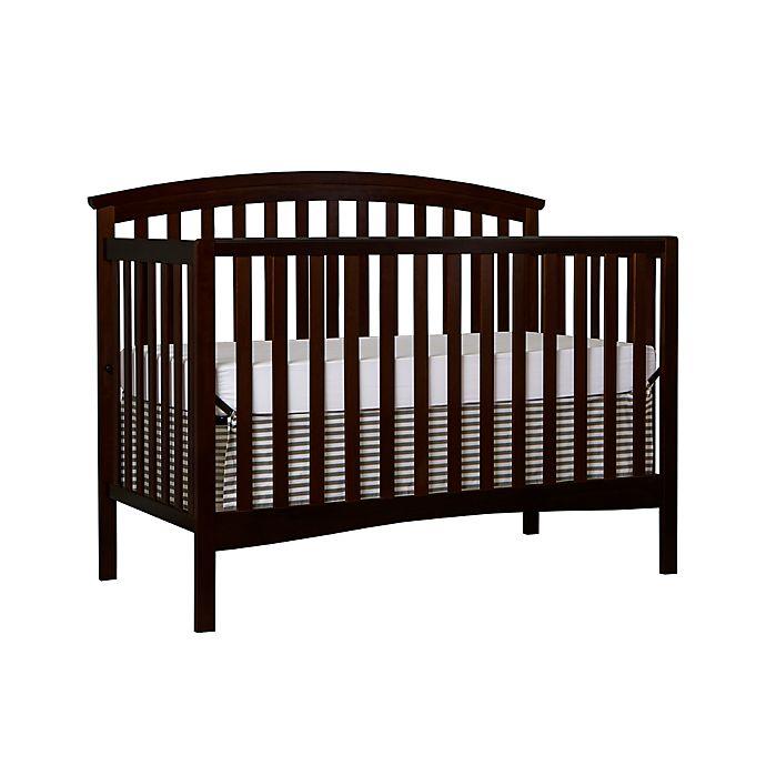 Alternate image 1 for Dream On Me Eden 5-in-1 Convertible Crib in Espresso