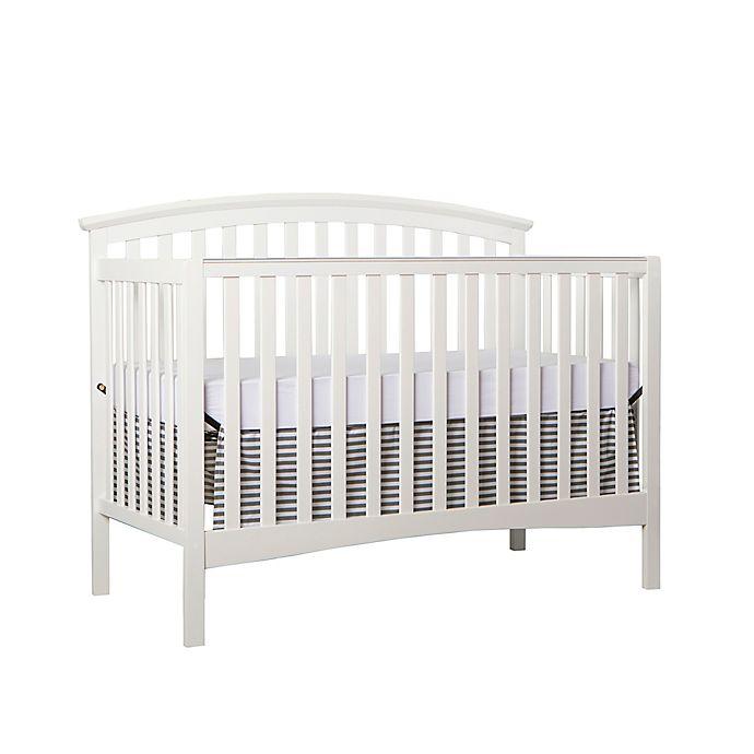 Alternate image 1 for Dream On Me Eden 5-in-1 Convertible Crib in White