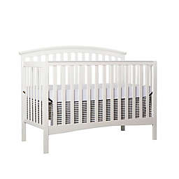 Dream On Me Eden 5-in-1 Convertible Crib in White