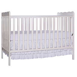 Dream On Me Carson Classic 3-in-1 Convertible Crib in White