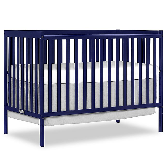 Alternate image 1 for Dream On Me Synergy 5-in-1 Convertible Crib in Dark Blue