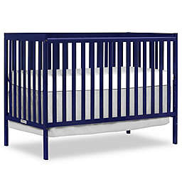 Dream On Me Synergy 5-in-1 Convertible Crib in Dark Blue