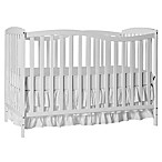Dream On Me Chelsea 5-in-1 Convertible Crib in White
