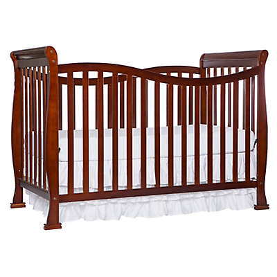 Dream On Me Violet 7-in-1 Convertible Crib in Espresso
