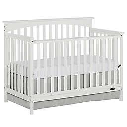 Dream On Me Davenport 5-in-1 Convertible Crib in White
