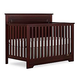 Dream On Me Morgan 5-in-1 Convertible Crib in Espresso