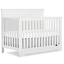 Dream On Me Morgan 5-in-1 Convertible Crib in White