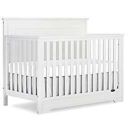 Dream On Me Morgan 5-in-1 Convertible Crib in White