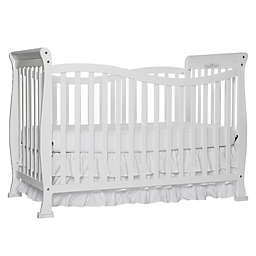 Dream On Me Violet 7-in-1 Convertible Crib in White