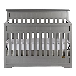 Dream On Me Chesapeake 5-in-1 Convertible Crib in Steel Grey
