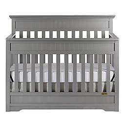 Dream On Me Chesapeake 5-in-1 Convertible Crib in Steel Grey