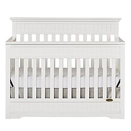 Dream On Me Chesapeake 5-in-1 Convertible Crib in White