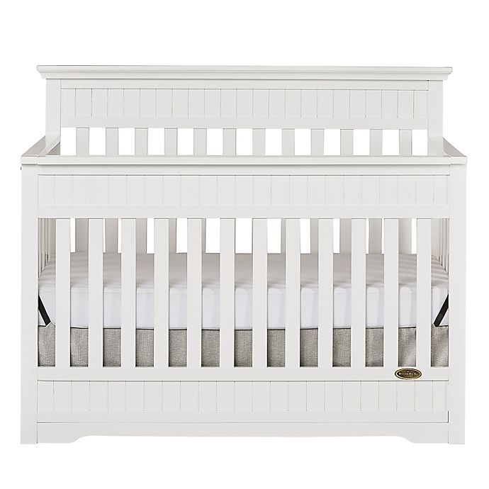 Alternate image 1 for Dream On Me Chesapeake 5-in-1 Convertible Crib in White