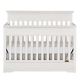 Dream On Me Chesapeake 5-in-1 Convertible Crib in White