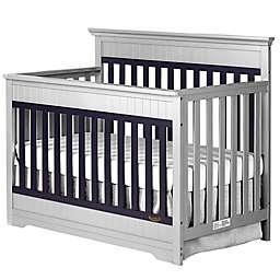 Dream On Me Chesapeake 5-in-1 Convertible Crib in Platinum